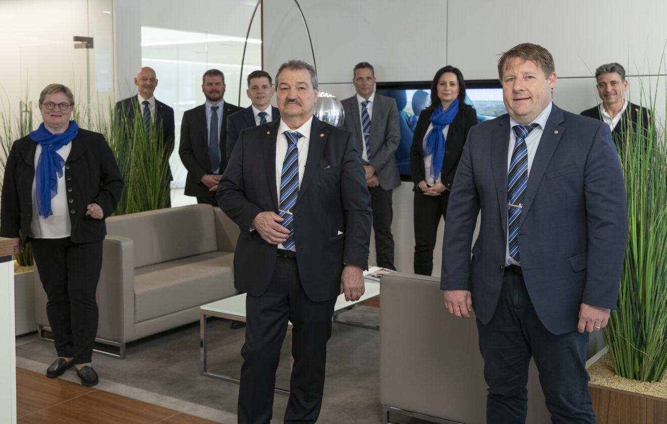 Vorstand von Gastro-Luzern und den Akteuren der Emil Frey Ebikon, Kriens und Littau.